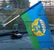 Флаг автомобильный 76-я гв. ВДД (12Х18см)