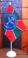 Флаг ДШМГ ПВ (12Х18см на подставке)