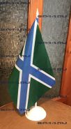 Флаг МЧ ПВ (12Х18см на подставке)