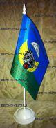 """Флаг """"45 гв.ОРП СпН"""" (12Х18см на подставке)"""